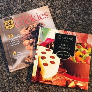 Nestle Best-Loved Cookies and Chocolate Box Books